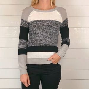 BCBGMAXAZARIA Laurel Knit Stripe Sweater